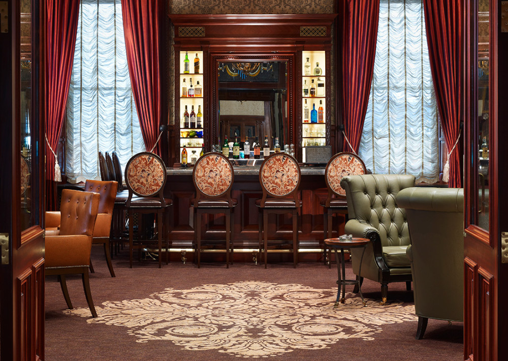 Cigar Lounge At The Union League Blta